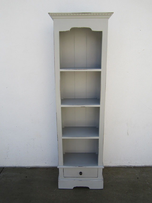 Narrow Bookcase With One Drawer Nadeau Alexandria