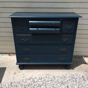 Dresser With Rounded Drawers