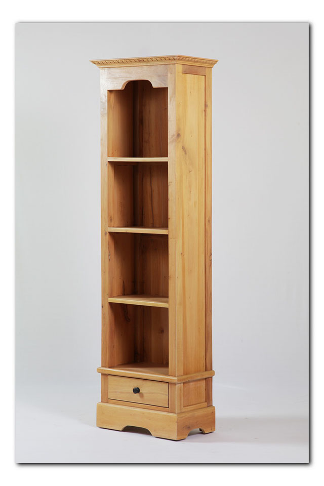 Narrow Bookcase With One Drawer Nadeau Baton Rouge