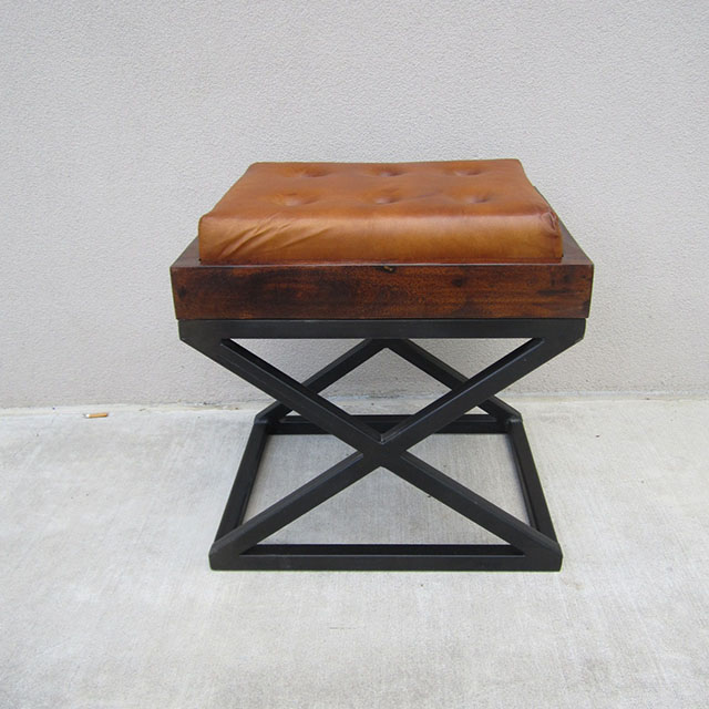 Astounding X Vanity Stool Leather Seat Pdpeps Interior Chair Design Pdpepsorg