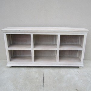 Low Bookcase With Six Openings