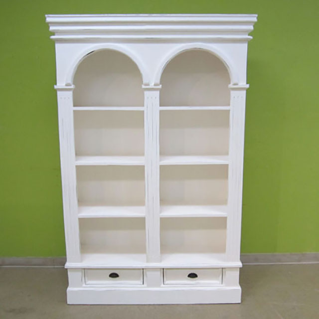 Double Arch Bookcase