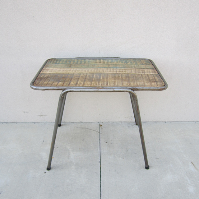 Iron And Wood Table