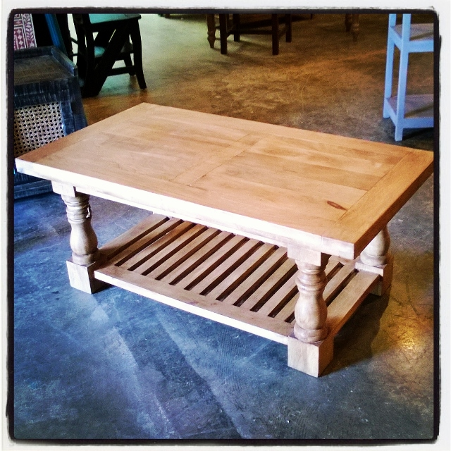 Great Baluster Coffee Table