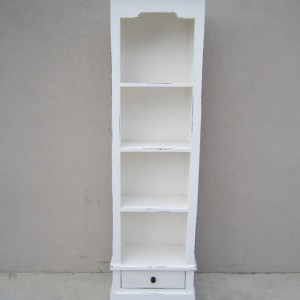 Narrow Bookcase With One Drawer