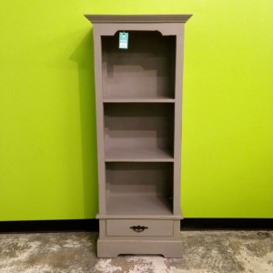 Narrow Bookcase With Single Drawer