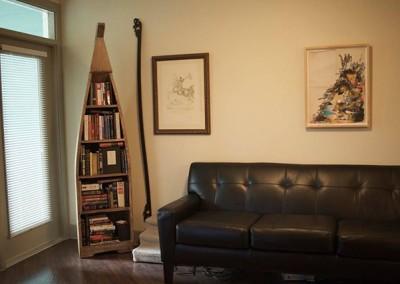 Austin Canoe Styled Bookcase