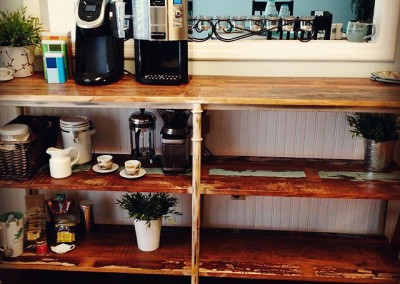 Perfect Shelves for Coffee Set-up