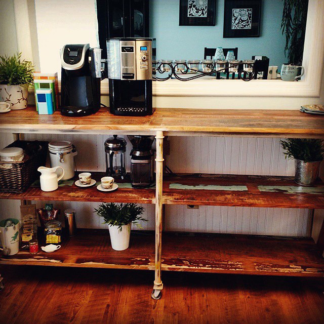 Perfect Shelves For Coffee Set Up